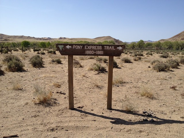 Pony Express Trail Marker