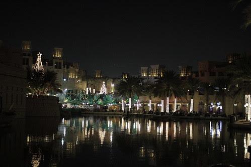 Mina Salam at night