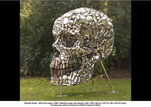 Subodh Gupta - Mind shut down, 2008 by artimageslibrary