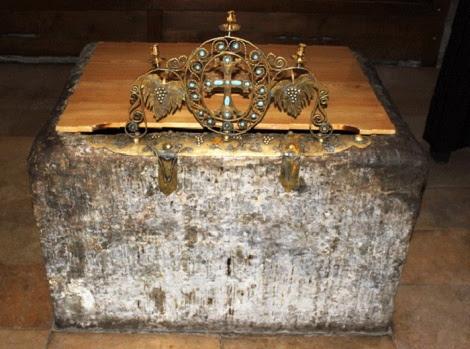 Fantana in care fura botezat Sf imparati Mirian si Nana, intocmai cu apostolii, Georgia (1 octombrie) 1