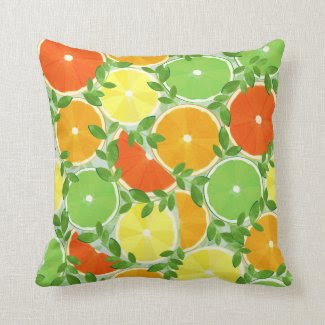 A Slice of Citrus Pillows