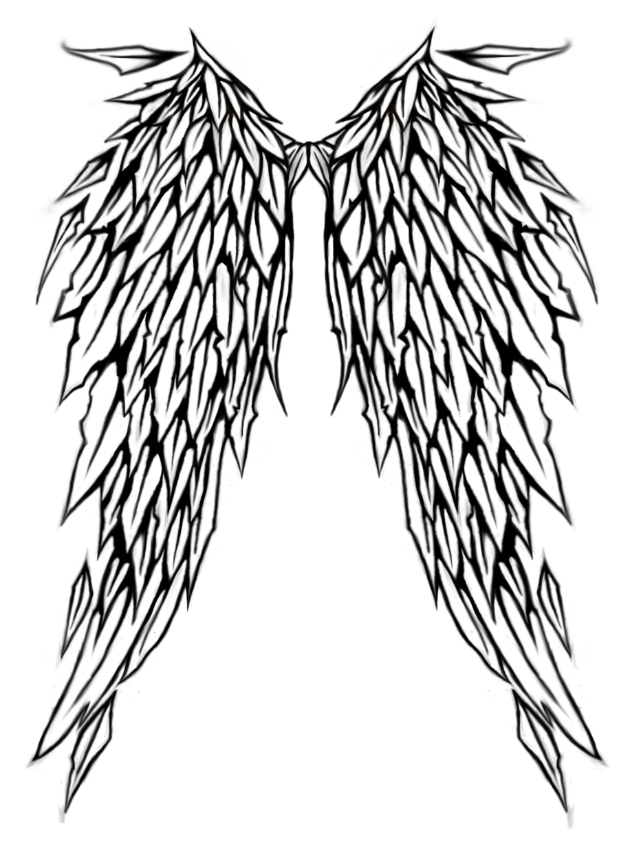Angel Wing Tattoo Design Sample Tattoomagz