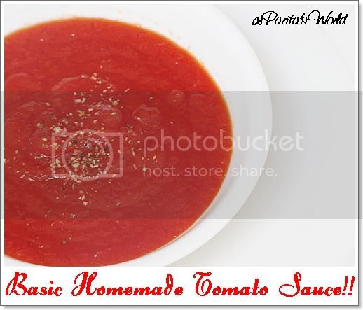 Basic tomato sauce, For details n recipe check http://paritaskitchen.blogspot.in/