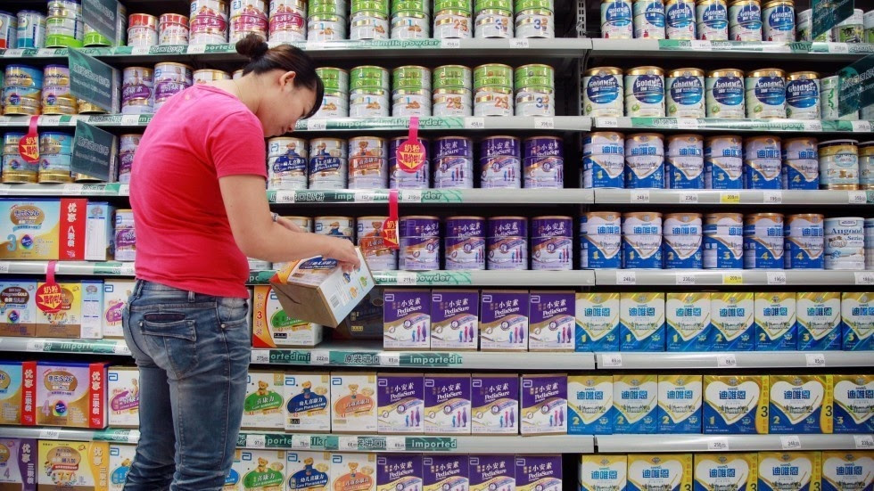 9 - Baby formula. In 2015, cheap baby formula and defective packaging formulas were resold under recognizable brand names. The police arrested the ring involved counterfeit group in 2015, but the general public were not made aware of the incident until the spring of 2016. The China Food and Drug Administration reasoned that they didn't want the general public to panic but no recall of the milk was made.