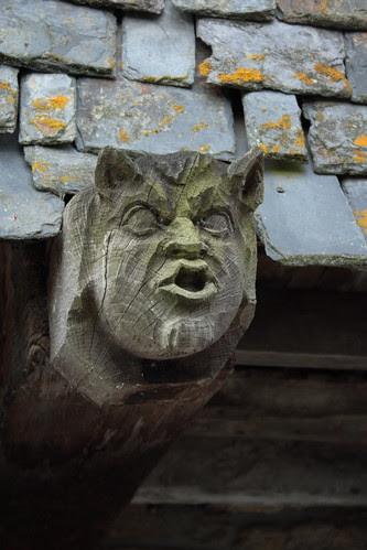 Detail d'une maison