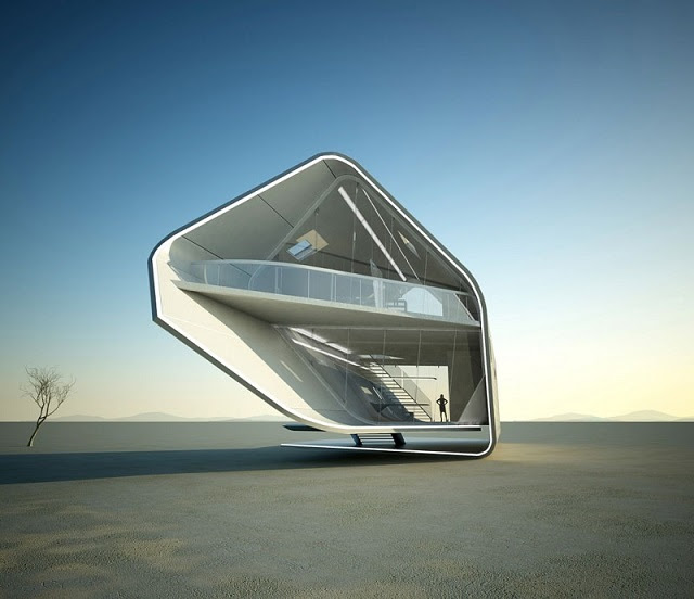 Architecture  Design: Futuristic Houses – My Design Week