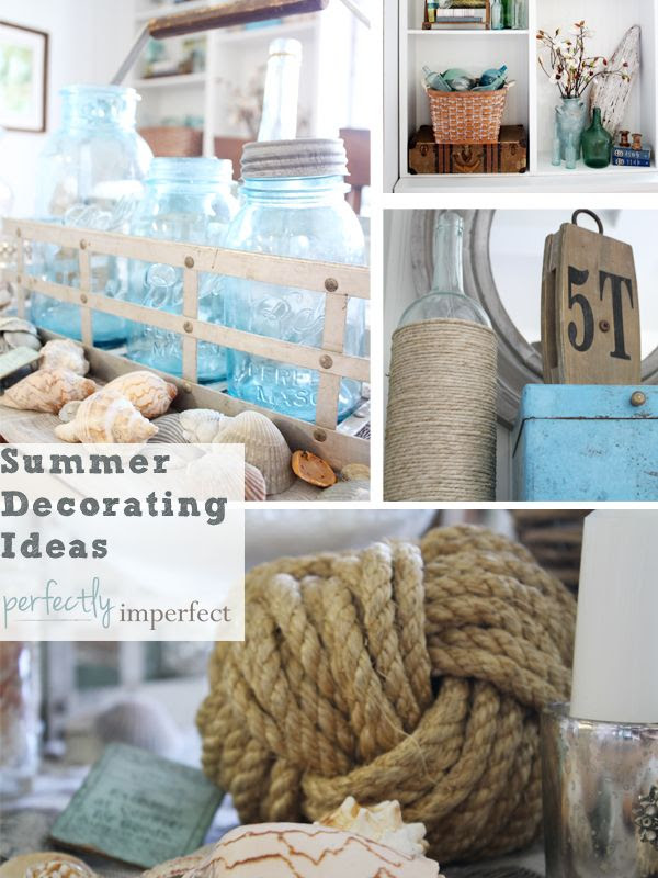 Summer decorating ideas dream house experience for Coastal design ideas