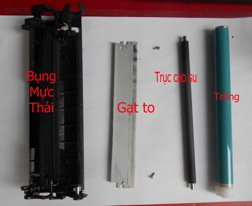 hướng dẫn đổ mực máy in canon 2900 tại nhà