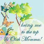 vote for me @ Olah Momma!