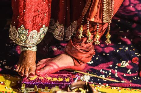 Rituals In An Indian Wedding Stock Photo   Image of