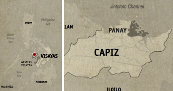 Panay Location Map