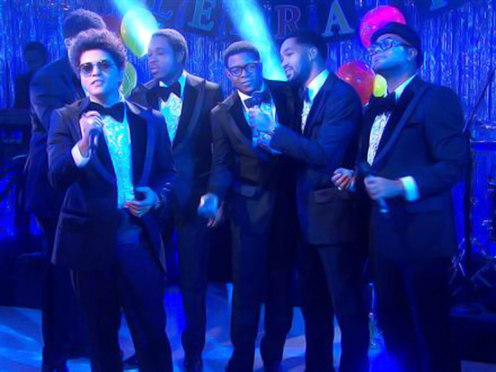 The Today Show (12/2012), Bruno Mars
