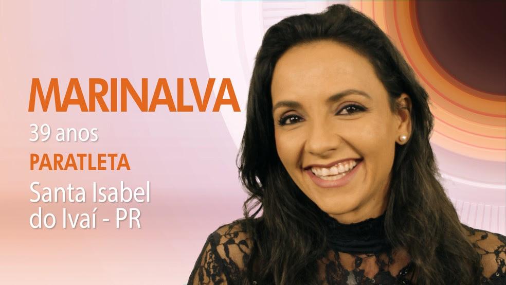 """Marinalva, sexta participante do """"BBB17"""" (Foto: Globo/Divulgação)"""
