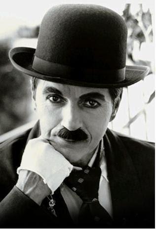 charlie chaplin. with Charlie Chaplin