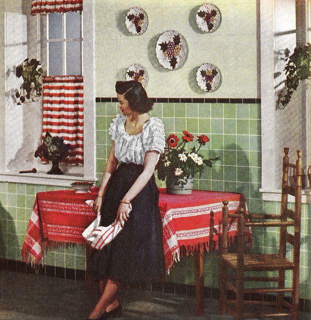 Chronically Vintage: A 1940s Take On Mediterranean