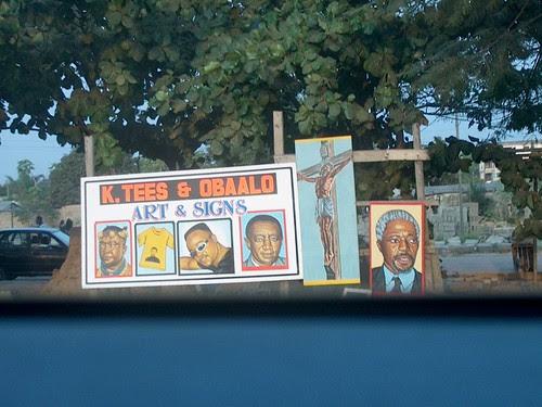 Art signs - Kofi Annan