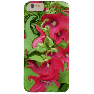 A Tough iPhone 6 Cover with a Red Hollyhock Design