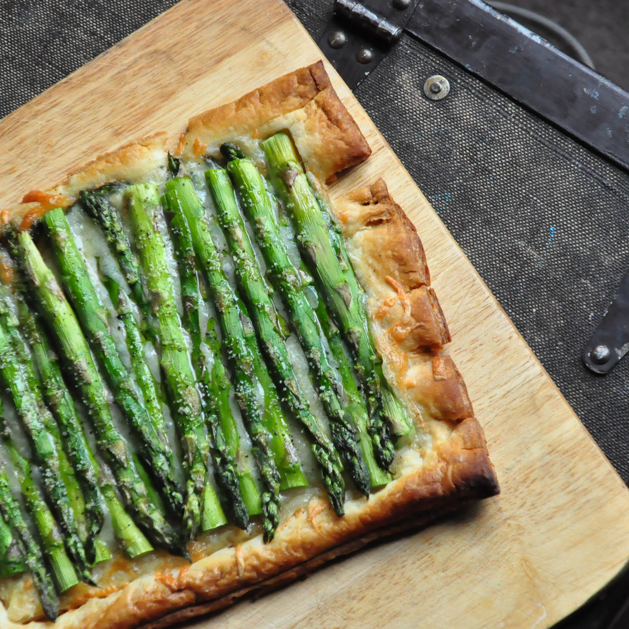 Gruyere and Asparagus Tart  Foods of Our Lives
