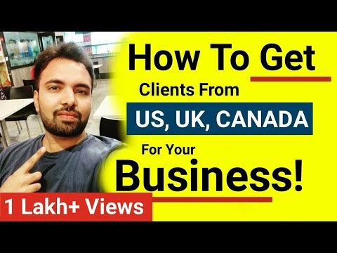 How to Get Clients from Other Countries