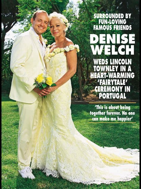 Denise Welch Wedding (13th July 2013)   Entertainment Today