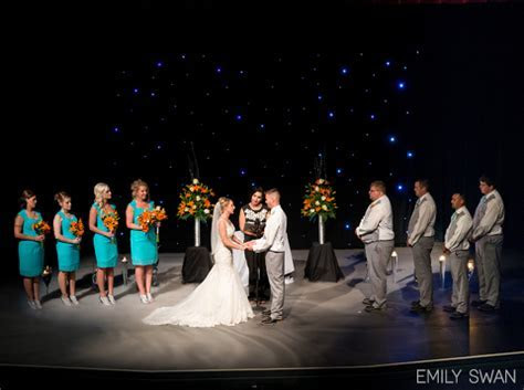 Alicia & Tyler   Sioux Falls Orpheum Theatre Wedding