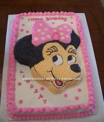 Gluten Free Birthday Cake Coolest Minnie Mouse Cake