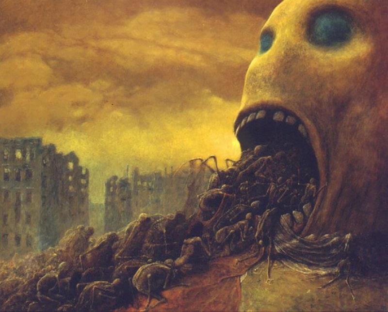 O artista que conseguiu captar o máximo horror dos sonhos 07