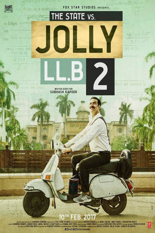 Jolly LLB 2 Movie Review - Poster
