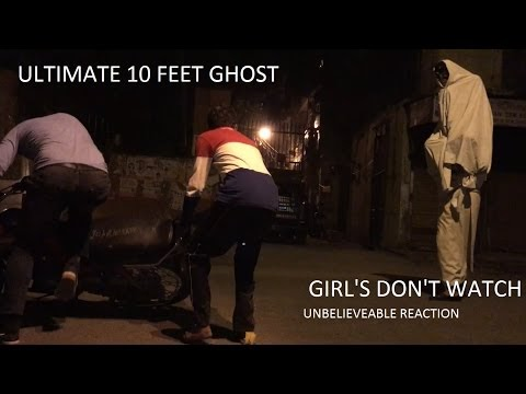 Best scary prank - 10 feet ghost - part 1- |Prank in India| by DiLLi WALE
