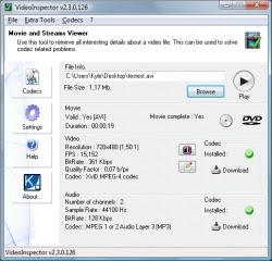 VideoInspector screenshot