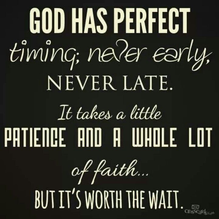 Bible Quotes On Gods Timing