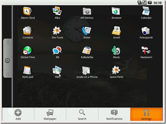 LiveAndroid Screenshot