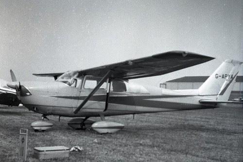 web2 G-APYA Cessna 175 4-6-1960