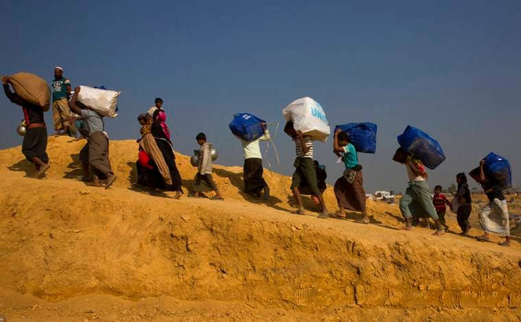Rohingya refugees, Rohingya muslims, Myanmar, Rohingya repatriations, Bangladesh, bangladesh news, indian express news