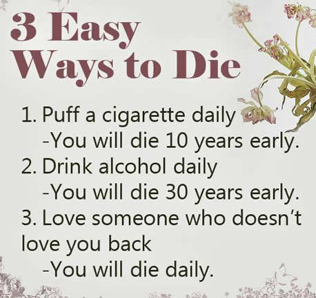 3 Easy Ways To Die Inspirational Quotes Pictures Motivational
