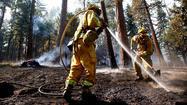 <b>Photos: </b>Rim fire at Yosemite