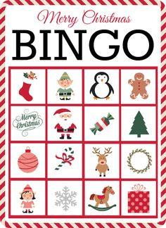 Christmas Bingo | Thanksgiving bingo, Nursing homes and Holiday ...