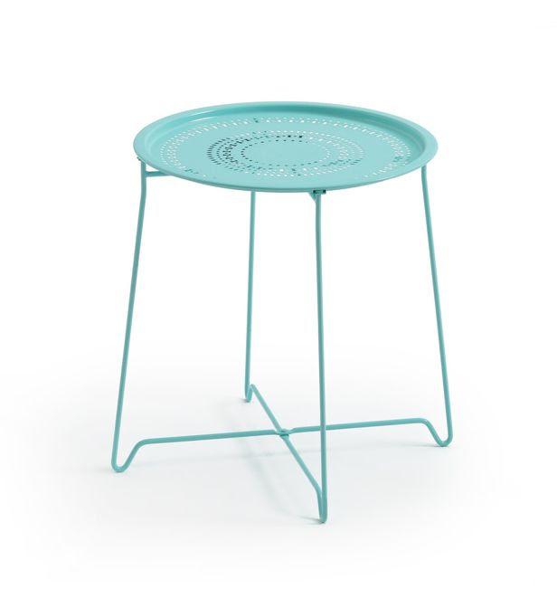 Table Basse Lisette Pliante En Métal La Redoute