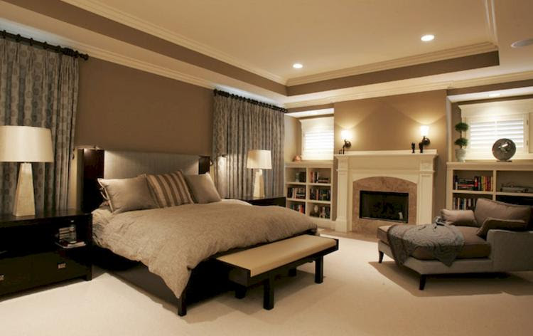 50+ Beautiful Neutral Master Bedroom Designs