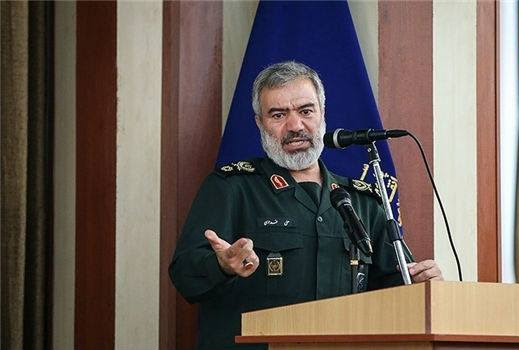 IRGC Navy Commander Adm. Ali Fadavi said that enemies will never dare to attack Iran because they are afraid of the Iranian Armed Forces' deterrent power. Photo: Shiite Media / flickr