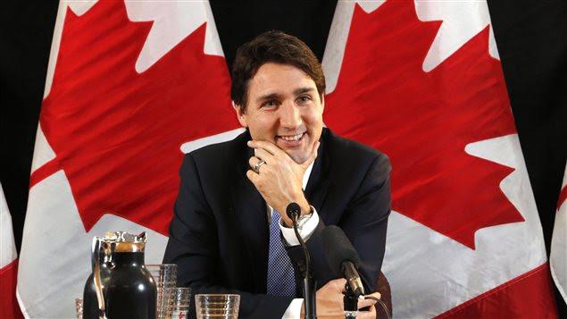 Justin Trudeau, lors de son entrevue à La Presse canadienne.