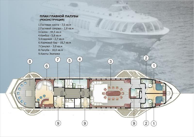 Luxury Houseboat Floor Plans Half Cabin Wooden Boat Plans