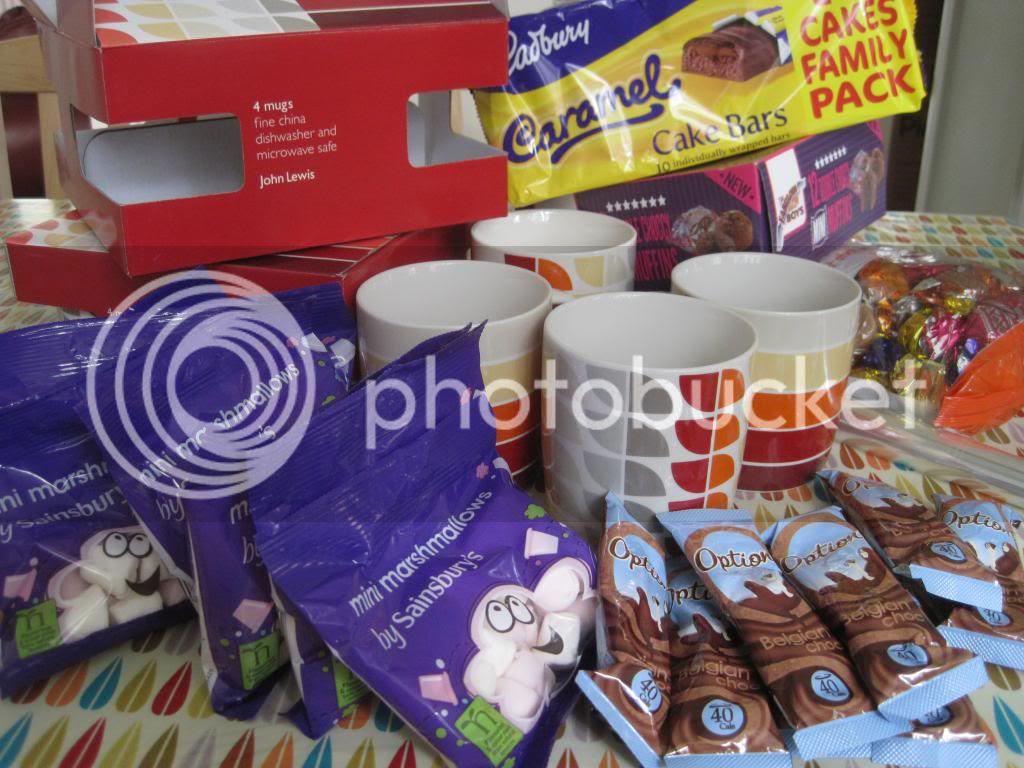 Baby Gift Basket Asda : Baby home made hamper ideas