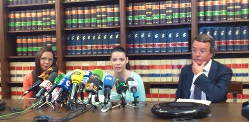 Rueda de prensa de Saida Prieto