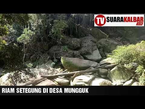 Wisata Alam, Riam Setegung di Kabupaten Landak