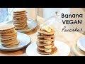 Recette Pancakes Vegan Banane