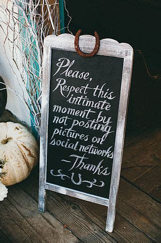 Best 25  Unplugged Wedding Sign ideas on Pinterest