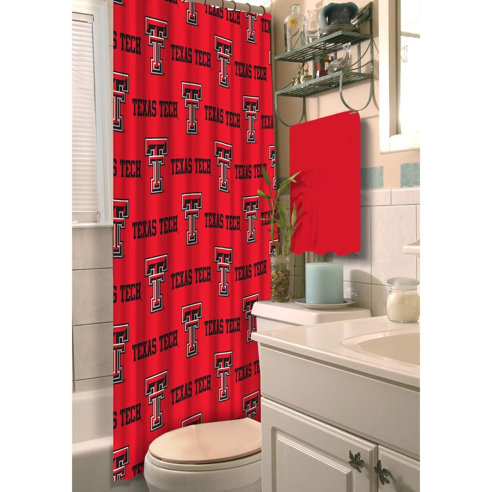 The Northwest Company Texas Tech Red Raiders 72 X 72 Shower