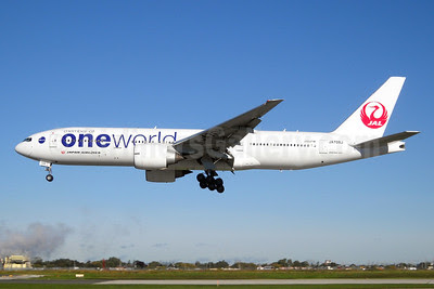 JAL-Japan Airlines Boeing 777-246 ER JA708J (msn 32895) (Oneworld) YYZ (TMK Photography). Image: 911529.
