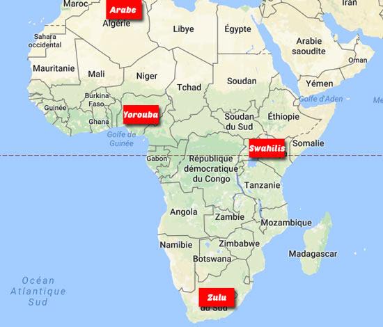 """Résultat de recherche d'images pour """"Quelles sont les 10 langues les plus parlées en Afrique ?"""""""